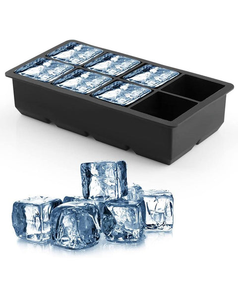 Silicone 8 Cavity Ice Cube Molds
