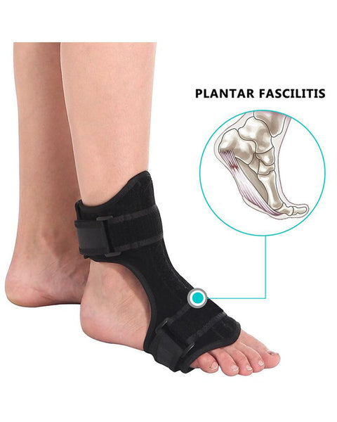 Dorsal Night Splint For Both Right And Left Foot Belt Feet Correction Facility