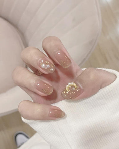 Waterproof Pearl Nail Stickers Manicure