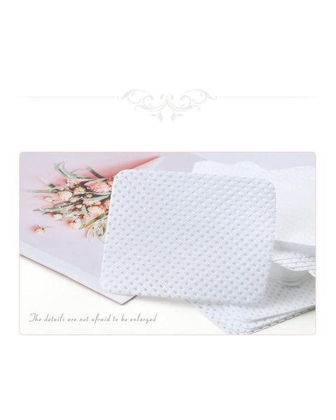 Nail Polish Remover Cotton Wipes Manicure Tools