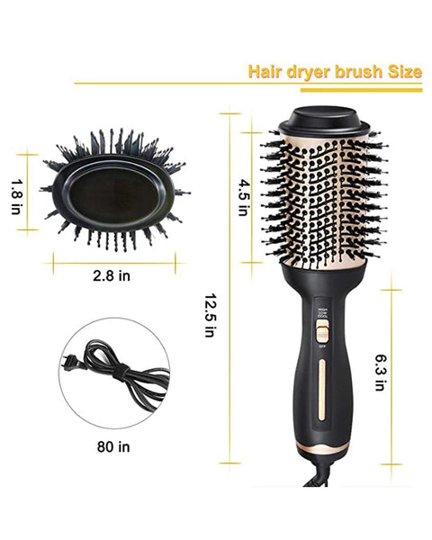 Multifunctional Professional Negative Ion Hair Dryer Brush