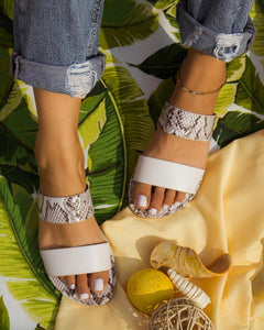 Open Toe Hollow Beach Sandals