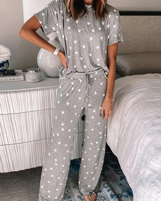 Casual Loose Fit Lounge Set