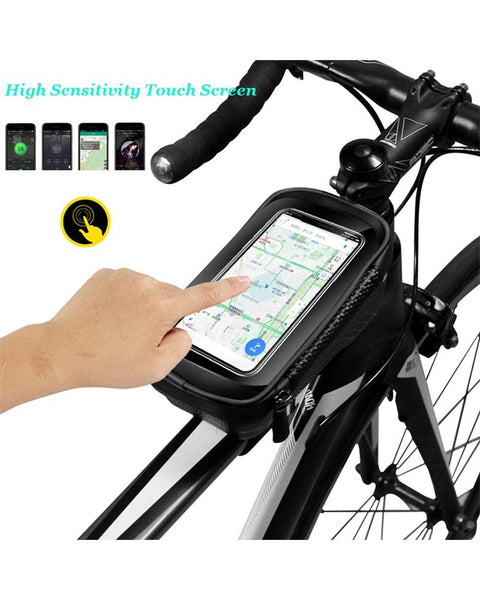 Waterproof Mobile Phone Holder Bicycle Tube Bag