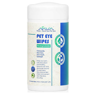 Pet Eye Wipes has been upgraded