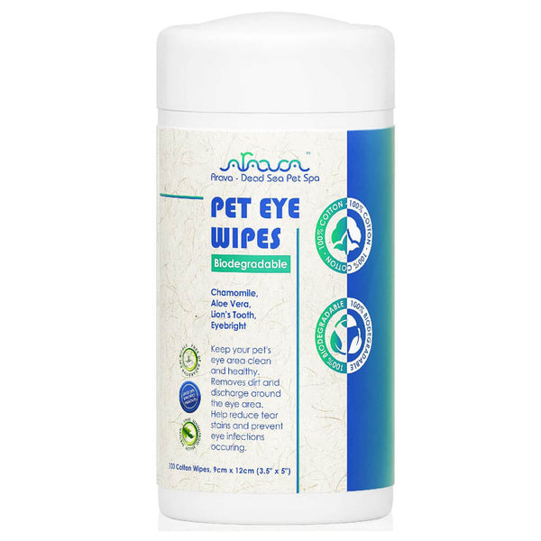 biodegradable pet eye wipes for dogs and cats