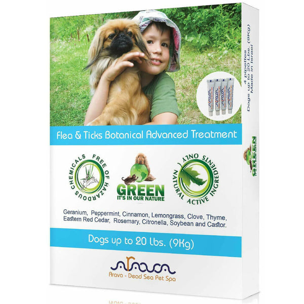 Arava Flea and Tick Drops Dogs and Puppies front