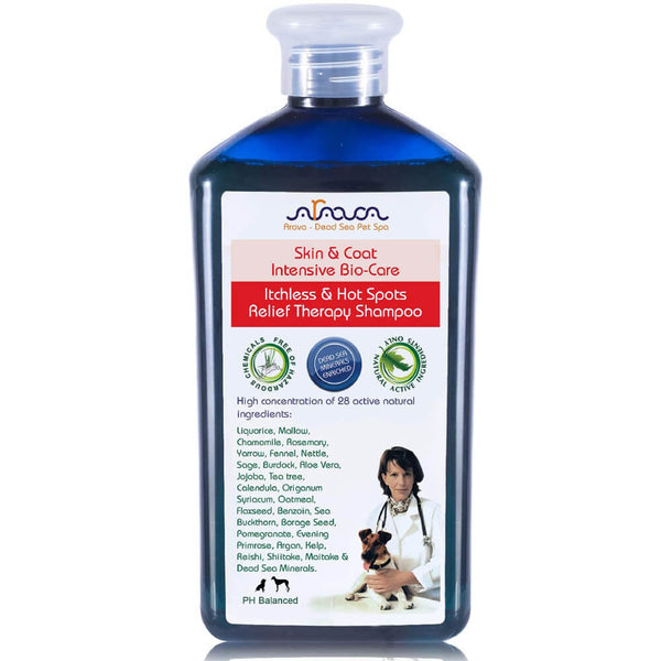 Arava Medicated Dog Shampoo front