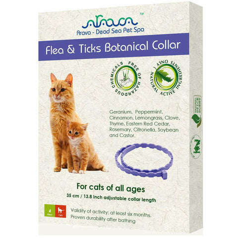 Arava Flea and Tick Collar for Cats (Front)
