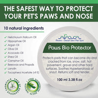 Arava Paw and Nose Balm for Dogs and Cats back