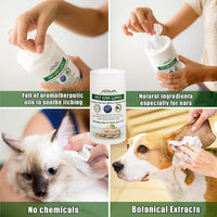 Arava Ear Wipes for Dogs and Cats image 1