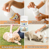 Arava Paw and Body Wipes for Dogs & Cats image 2
