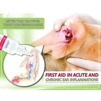 Arava Natural Ear Infection Treatment & Ear Wipes Bundle for Dogs & Cats