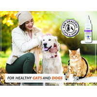 Arava Natural Tear Stain Remover & Eye Wipes for Dogs & Cats
