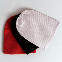 Load image into Gallery viewer, Cashmere Ribbed Knit Beanie