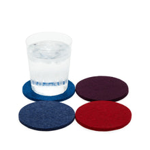 Load image into Gallery viewer, Bierfilzl Multi-Color Felt Coaster Set