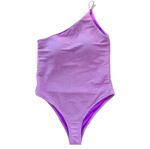 Mermaid swimsuit lila