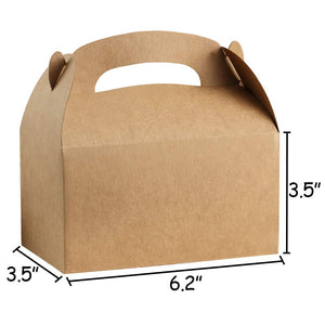Kraft Brown Gift Box w/Handles