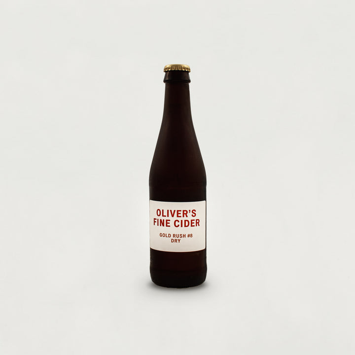 Gold Rush #8 dry fine cider - 330ML