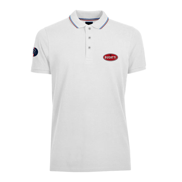 """110 Ans"" Polo Man White"