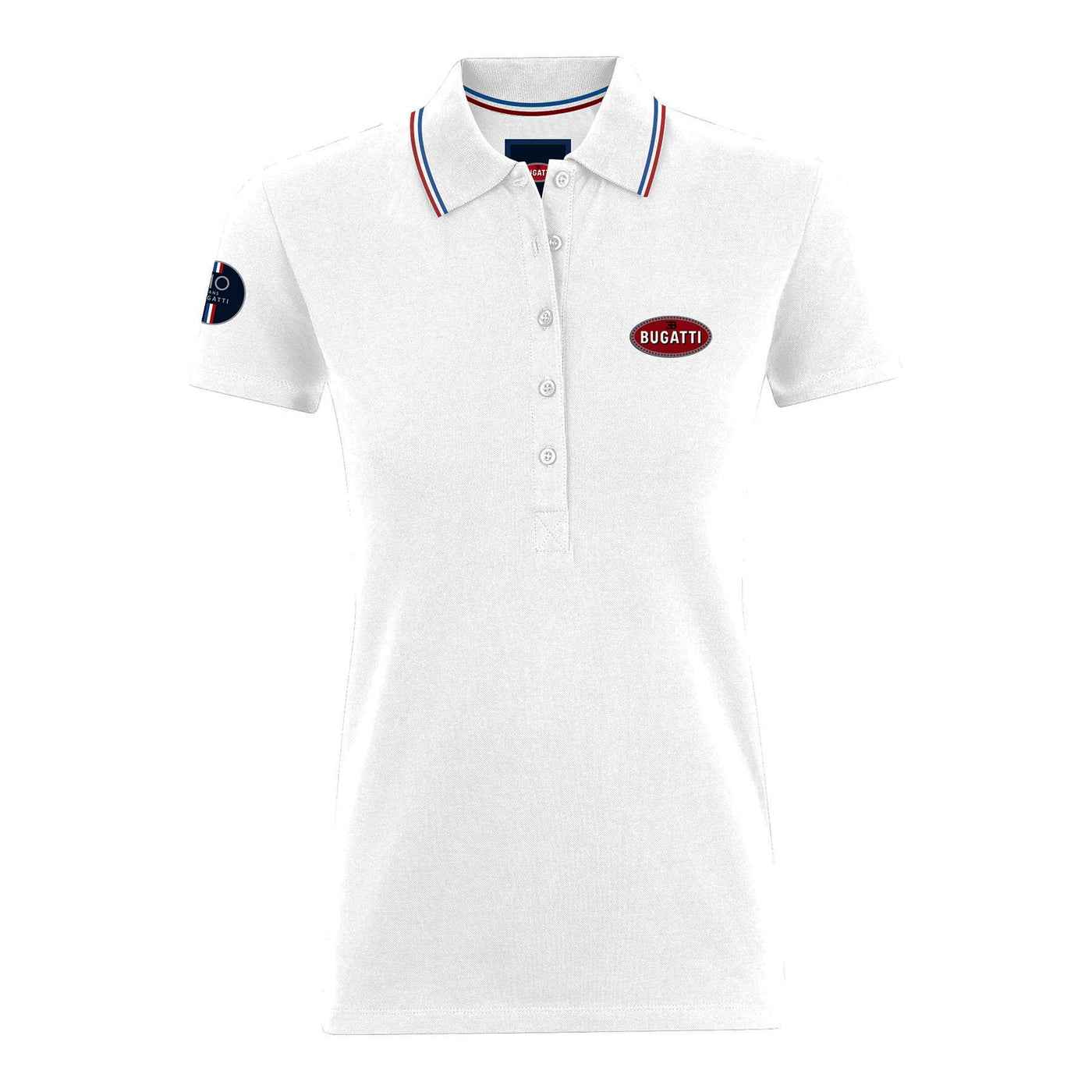 "Bugatti ""110 Ans"" Polo Woman White"