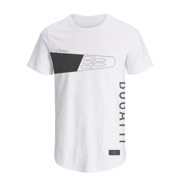 """Bugatti Automobiles"" 110 Car 02 T-Shirt White - Special Edition"