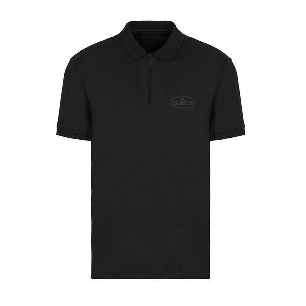 """Bugatti Automobiles"" Reflective Polo Black"