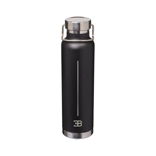 """Bugatti Automobiles"" Macaron Water Bottle Black"