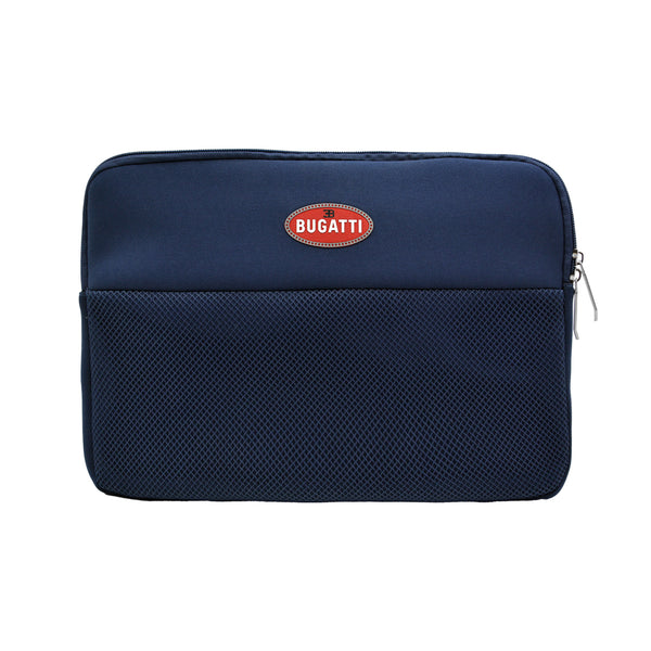 """Bugatti Automobiles"" Pouch for PC or Tablet Blue"