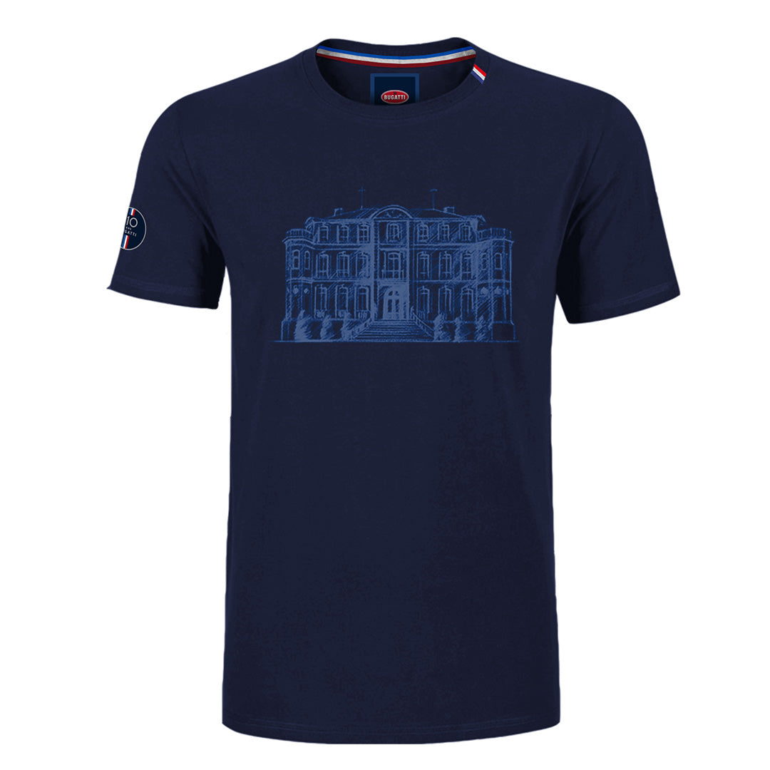 "Bugatti ""Chateau"" T-Shirt Man Blue Navy"