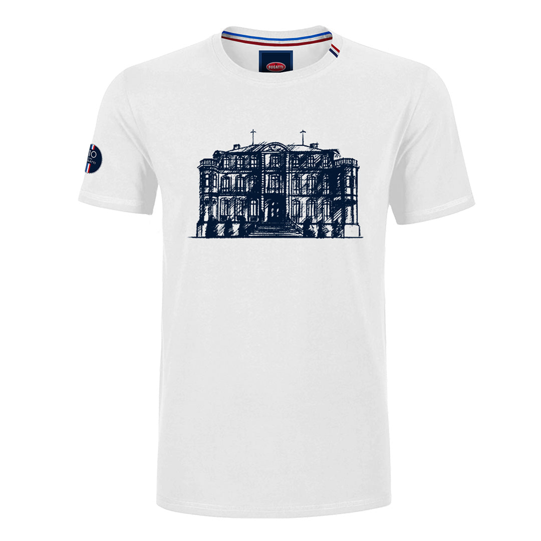 "Bugatti ""Chateau"" T-Shirt Man White"