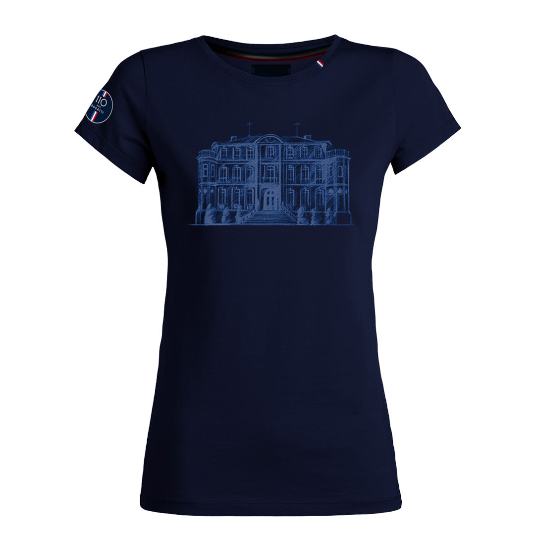"Bugatti ""Chateau"" T-Shirt Woman Blue Navy"