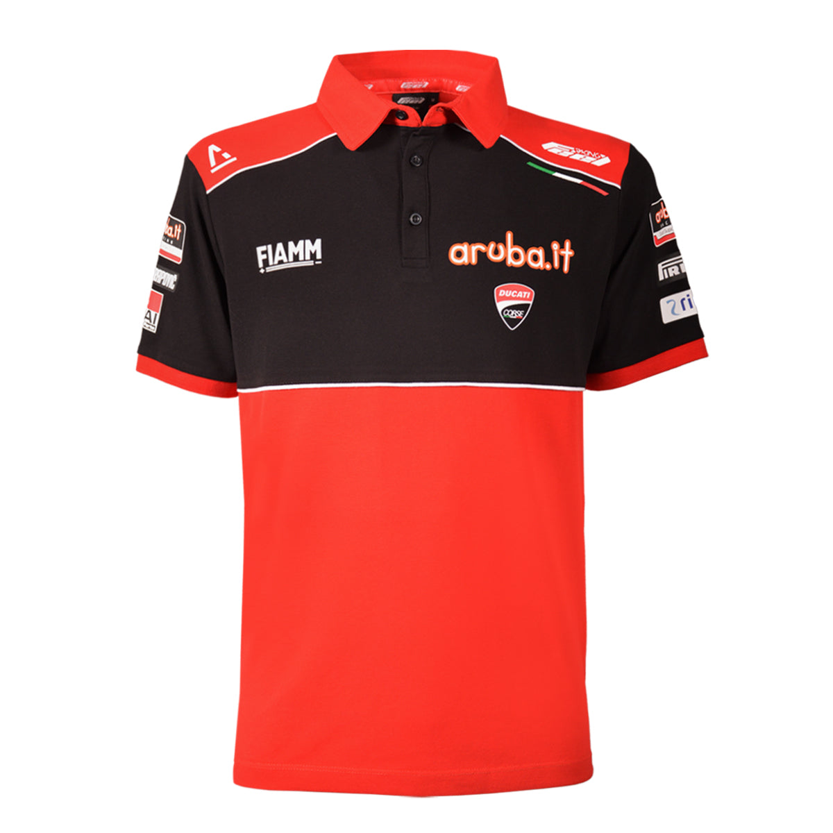 Ducati Feel Racing - Red Polo