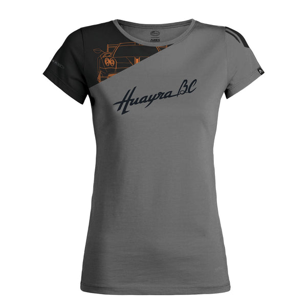 HUAYRA BC COLLECTION T-SHIRT WOMAN GREY