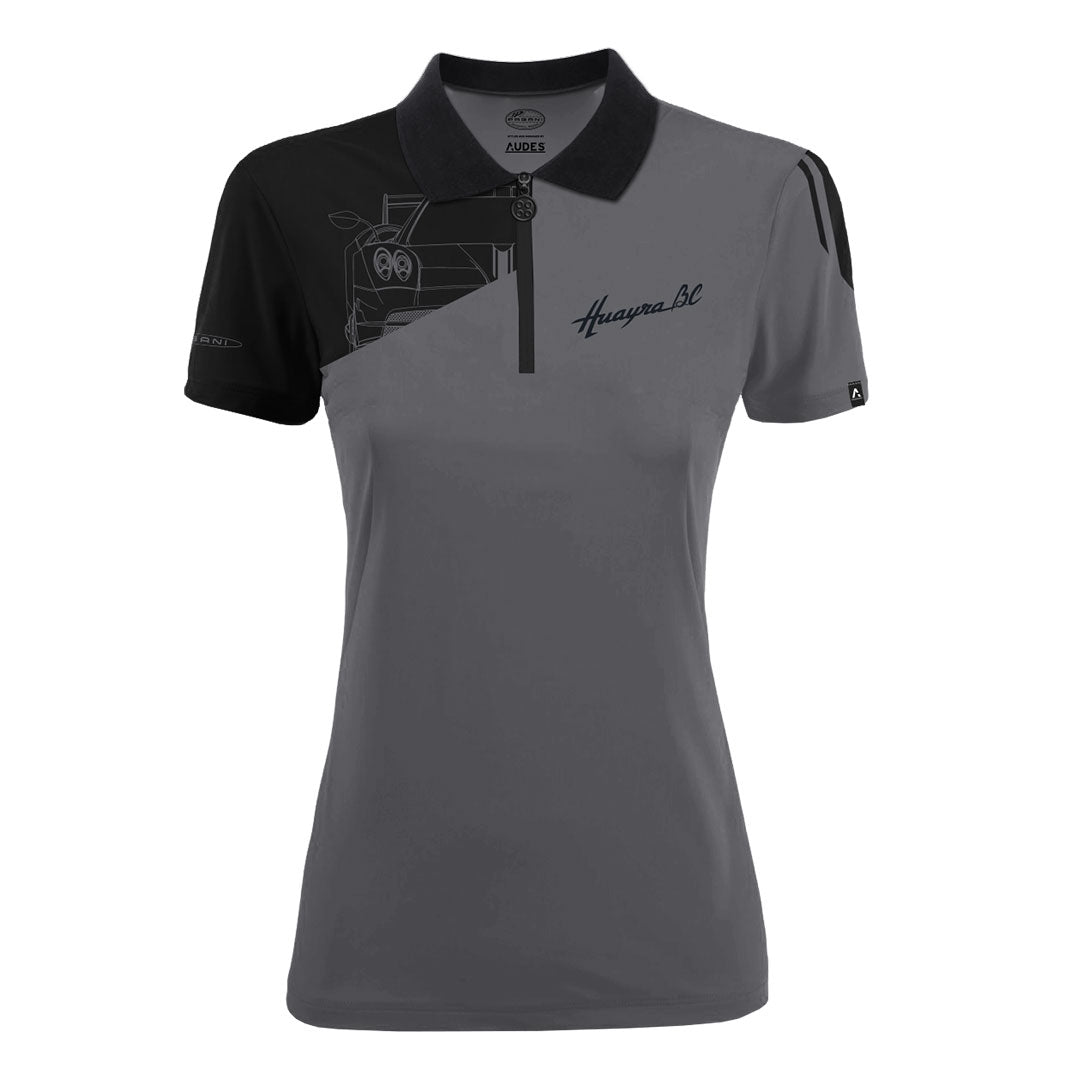 HUAYRA BC COLLECTION POLO WOMAN GREY