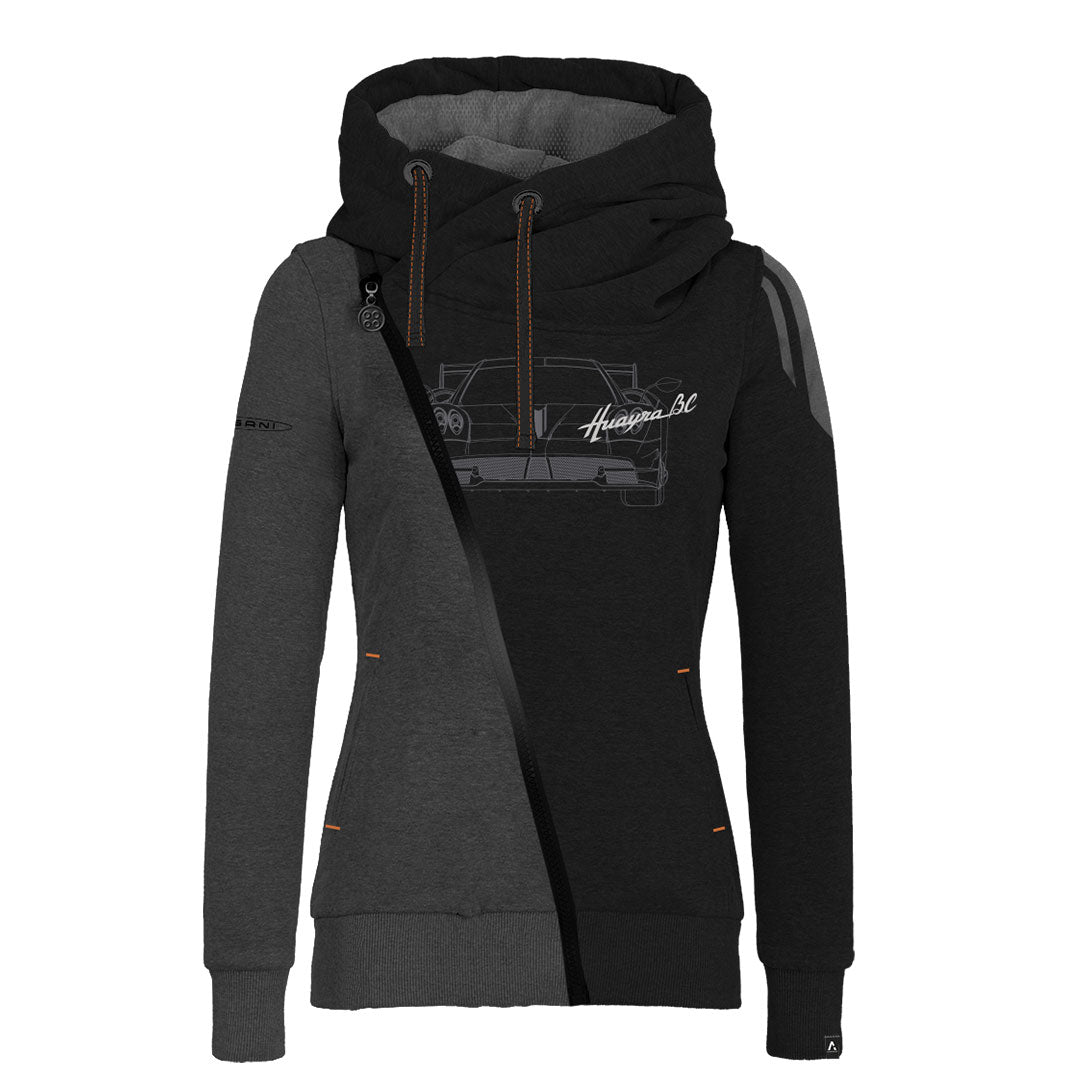 HUAYRA BC COLLECTION HOODIE WOMAN BLACK