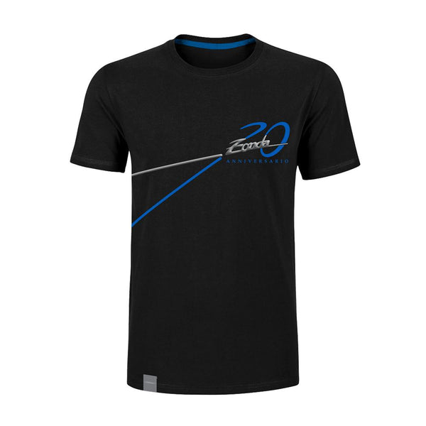 "Pagani ""Zonda 20Th"" Anniversary Logo T-Shirt Man Black"