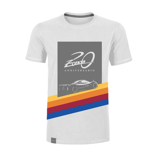"Pagani ""Zonda 20Th"" F T-Shirt Man White"