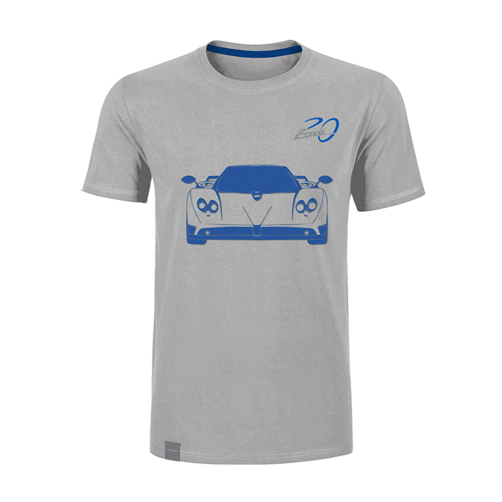"Pagani ""Zonda 20Th"" F T-Shirt Man Special Grey"