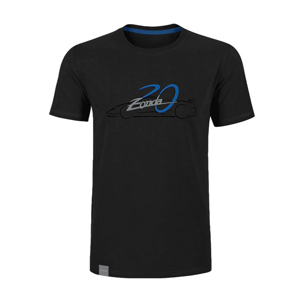 "Pagani ""Zonda 20Th"" F T-Shirt Man Black"