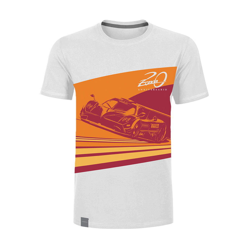 "Pagani ""Zonda 20Th"" Revolucion T-Shirt Man  White"