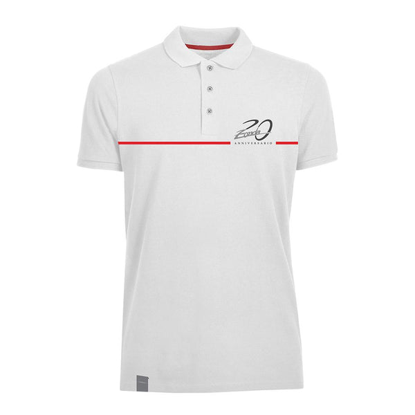 "Pagani ""Zonda 20Th"" Cinque Polo Man White"