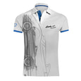 "Pagani ""Zonda 20Th"" Barchetta Polo Man White"