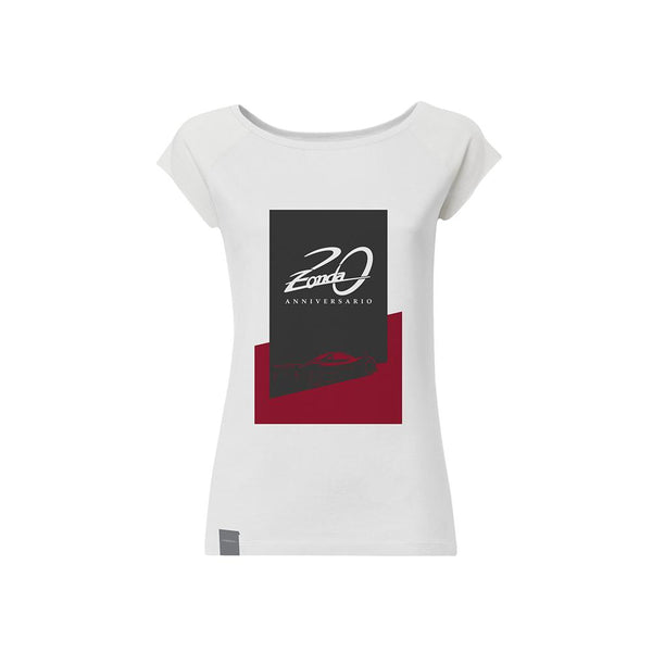 "Pagani ""Zonda 20Th"" F T-Shirt Woman White"