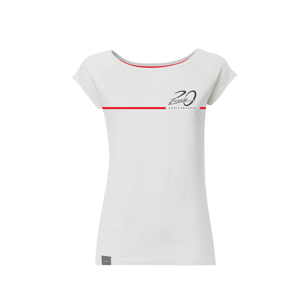"Pagani ""Zonda 20Th"" Cinque T-Shirt Woman White"