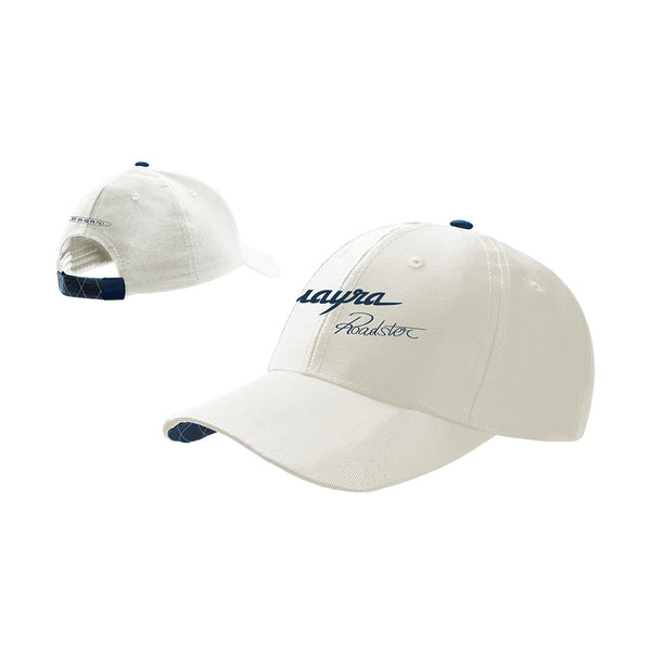 """Huayra Roadster"" Cap White"