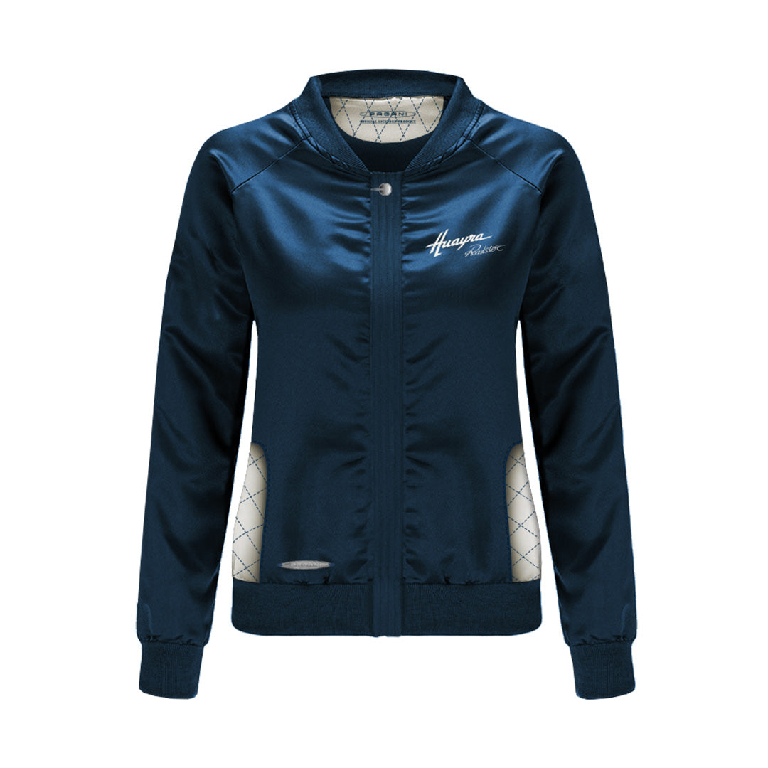 """Huayra Roadster"" Windproof Jacket Woman Blue"