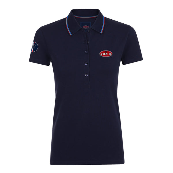 """110 Ans"" Polo Woman Blue Navy"
