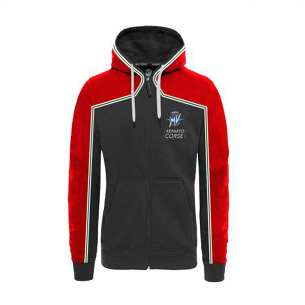 MV Agusta RC - Full Zip Hoodie Red