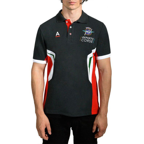 Reparto Corse Black Polo